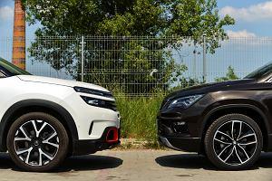 Opinie Moto.pl: Seat Ateca 2.0 TSI vs. Citroen C5 Aircross 1.6 THP. W benzynie siła
