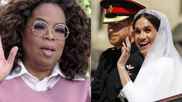 Oprah Winfrey, książę Harry, księżna Meghan