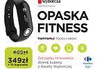 """Opaska fitness TomTom Touch Cardio w wyjątkowej cenie za kupony z """"Wyborczej""""."""