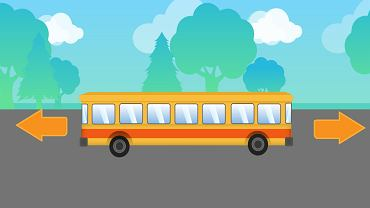 W którą stronę jedzie autobus?