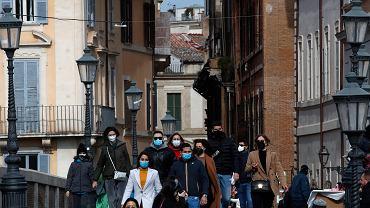 Tłumy we Włoszech