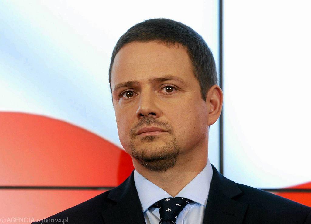 Minister Rafał Trzaskowski
