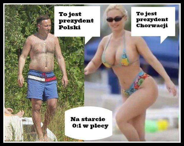 Zdjęcie numer 10 w galerii - Grzejemy się! Dawać Chorwację! Tym razem memy już przed meczem!
