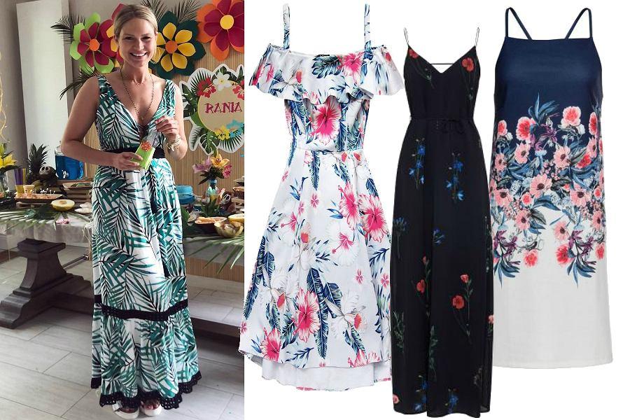 Sukienki na ramiączkach wzory