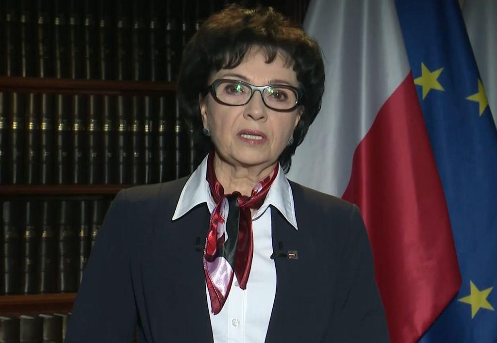 Elżbieta Witek, marszałkini Sejmu