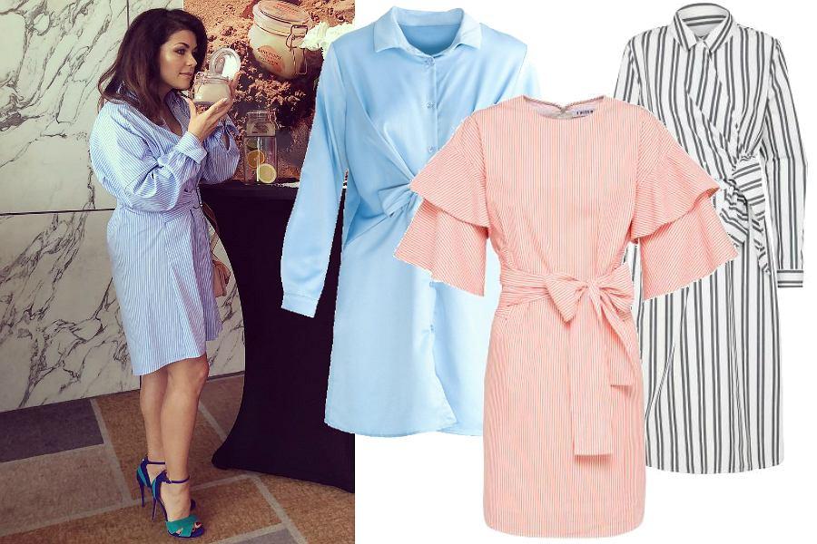 Klasyczne sukienki koszulowe