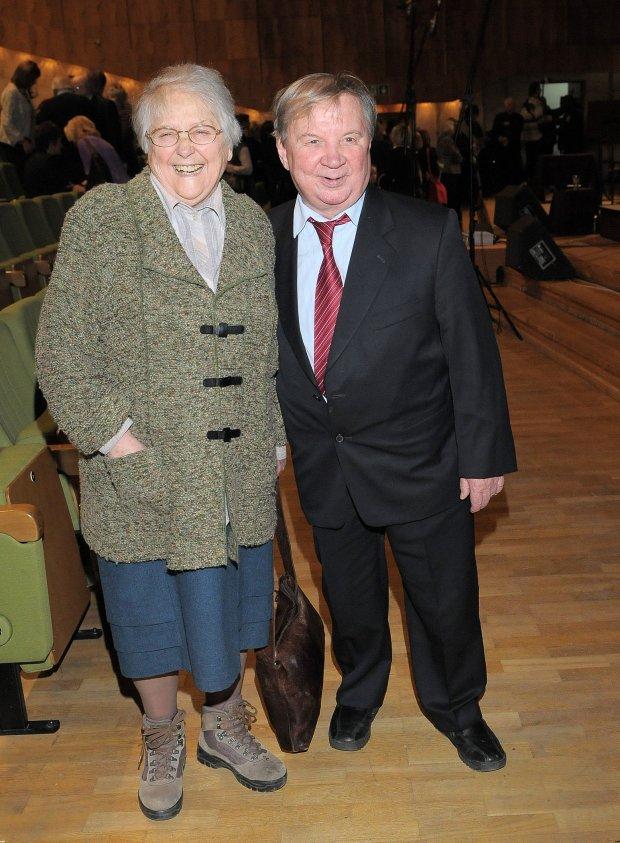 Roman Kłosowski z żoną Krystyną