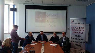 Konferencja poświęcona udziałowi podlaskich firm w targach w Hanowerze