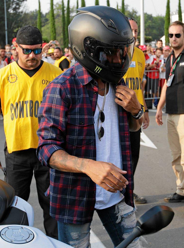 Trening przed GP Włoch. Lewis Hamilton