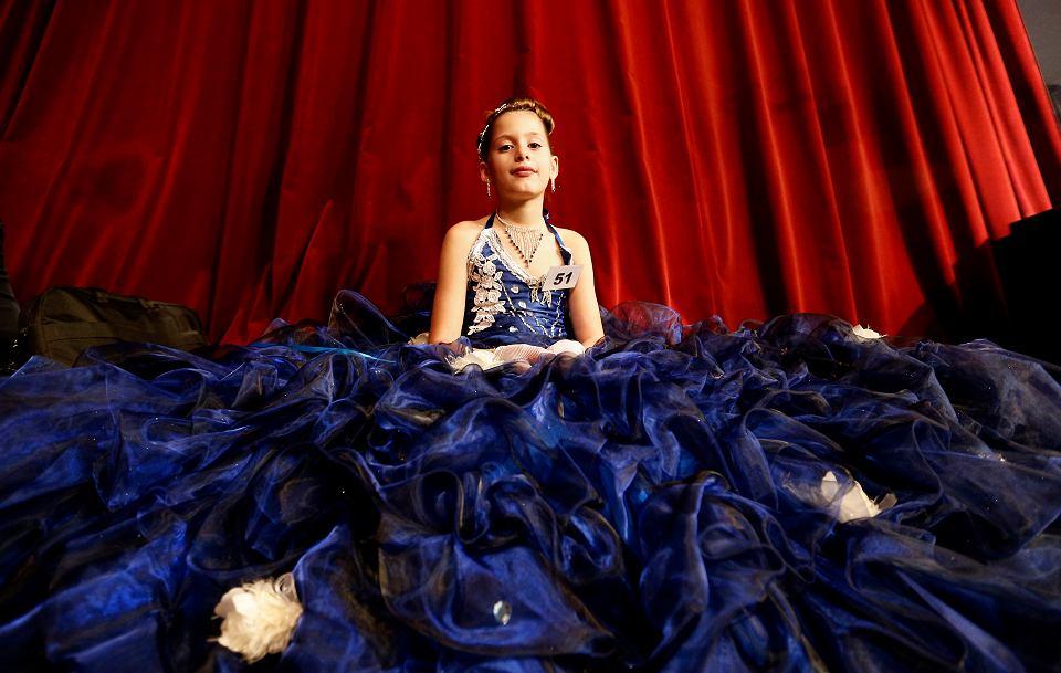 Konkurs piękności dla dzieci w wieku od 5 do 11 lat, Paryż, 2013 r.