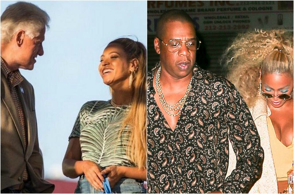 Bill Clinton, Beyonce, Jay Z