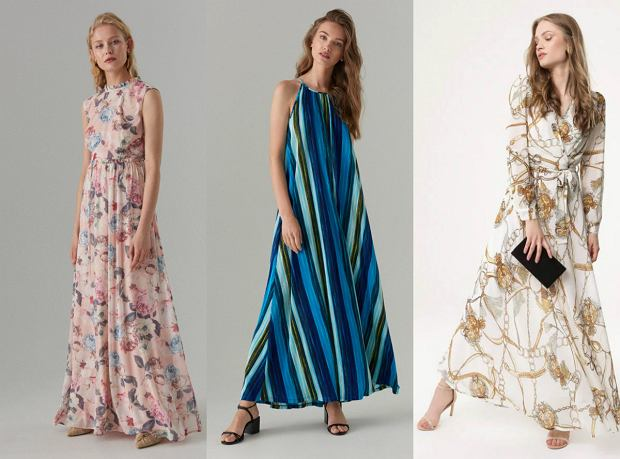 Letnie modele sukienek w rożnych wzorach