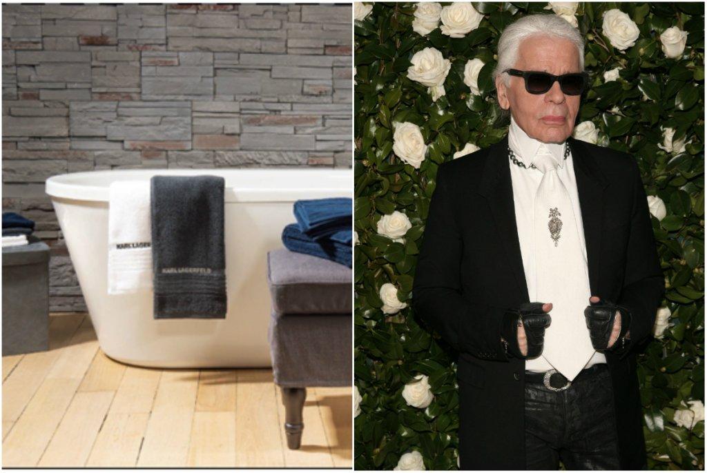 Karl Lagerfeld dla Carrefour - kolekcja tekstyliów