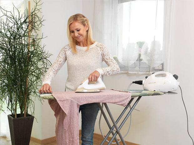 Stacja parowa - pomocnik podczas prasowania ubrań