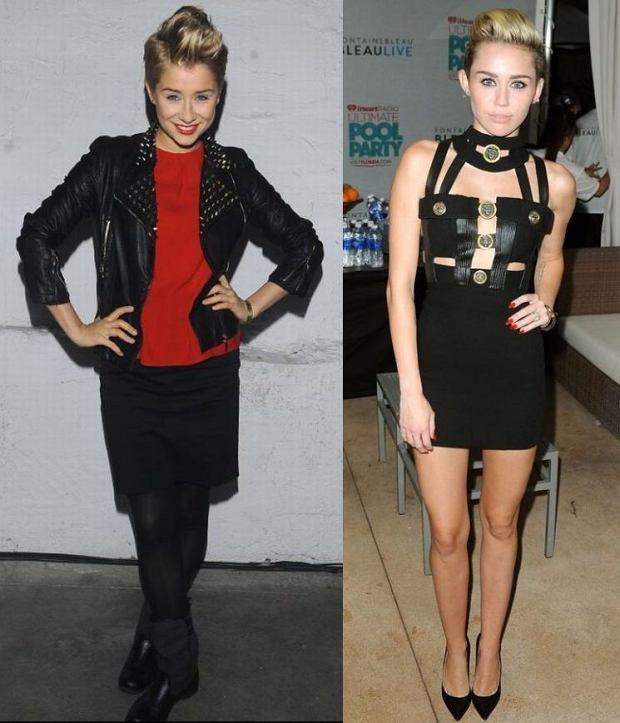 Katarzyna Pyszyńska, Miley Cyrus