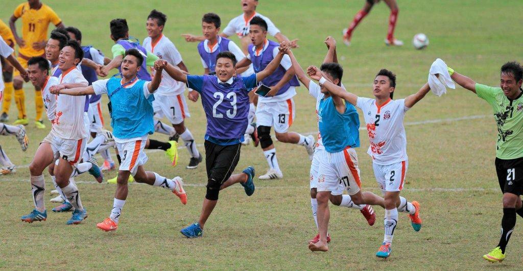 Reprezentacja Bhutanu cieszy się z awansu