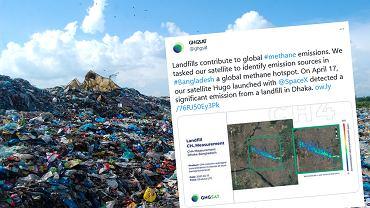 Zagadkowa emisja wykryta przez satelity. Metan wycieka z wysypiska w Bangladeszu