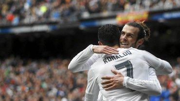 Cristiano Ronaldo i Gareth Bale