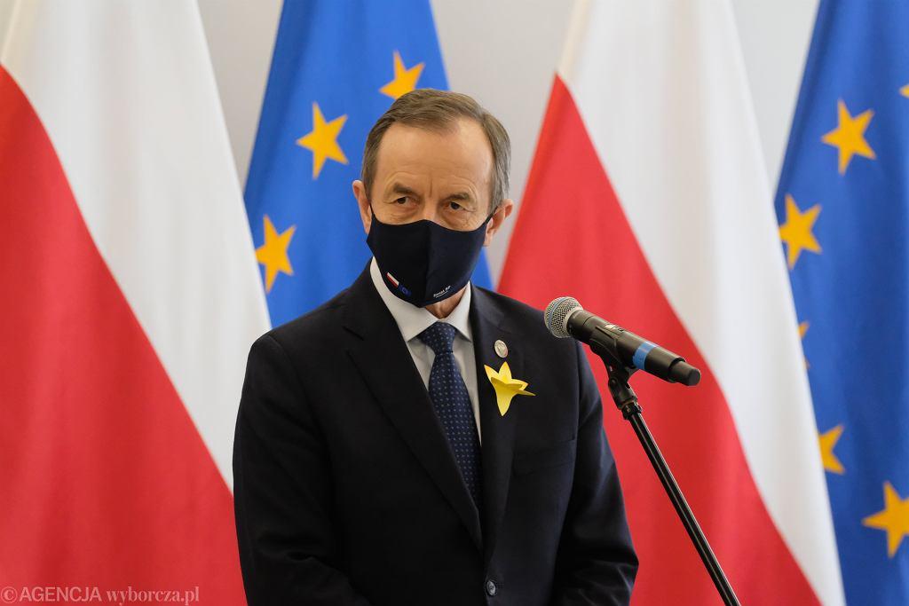 Marszałek Senatu Tomasz Grodzki powiedział, jakiego kandydata na RPO oczekuje