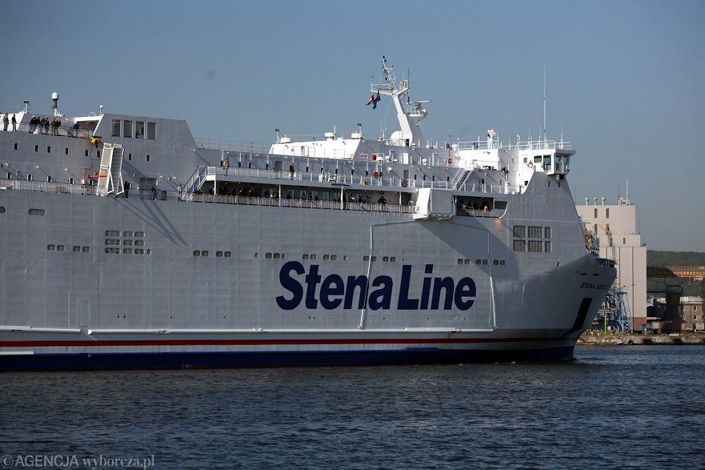 Wypadek na transportowcu Stena Line, nie żyje mężczyzna (zdj. ilustracyjne)