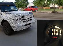 Ford Bronco z ręczną przekładnią ma tajemniczy bieg C. Jego przeznaczenie jest wyjątkowe [WIDEO]
