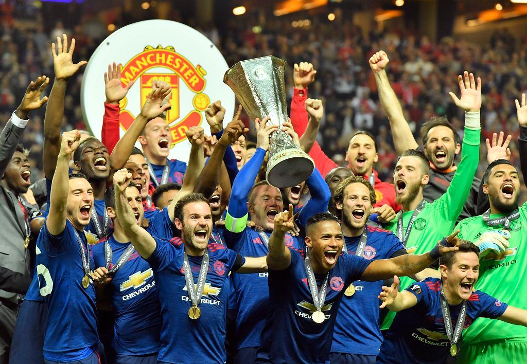 Piłkarze Manchesteru United po wygranym meczu z Ajax Amsterdam