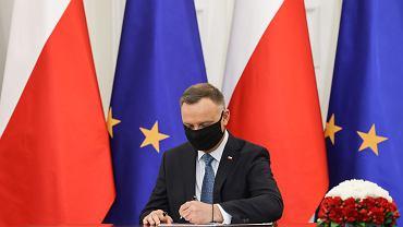 Prezydent Andrzej Duda ratyfikował Fundusz Odbudowy