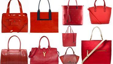 10 czerwonych torebek - którą wybierasz?