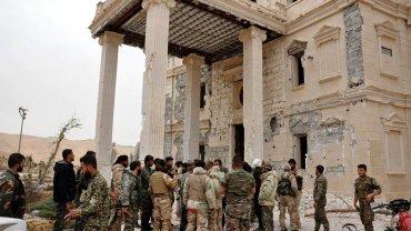 Syryjskie wojska w Palmirze