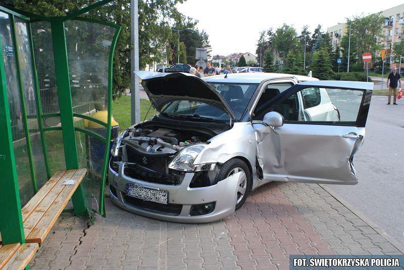 Wypadek w Połańcu