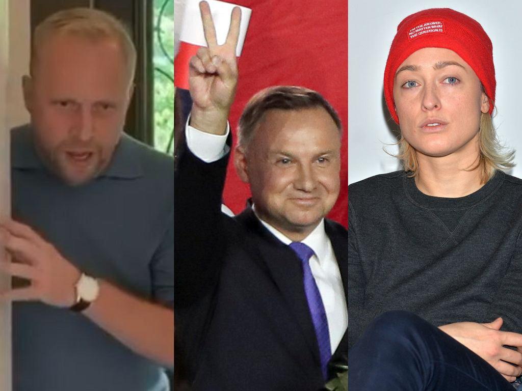 Piotr Adamczyk, Andrzej Duda, Matylda Damięcka