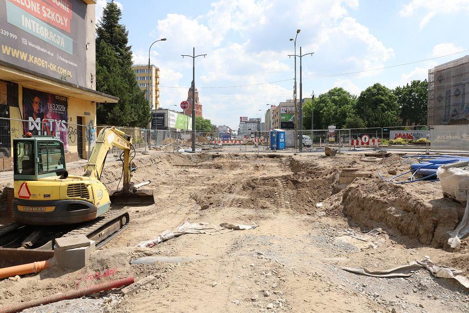 Zdjęcie numer 2 w galerii - Wielka przebudowa w centrum Gorzowa trwa już rok. Co się ostatnio zmieniło?
