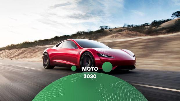 Nowa Tesla Roadster. To będzie najszybszy samochód w historii motoryzacji [MOTO 2030]