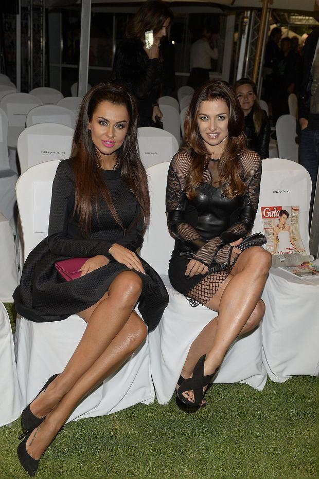 Natalia Siwiec i Anna Lewandowska