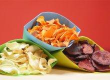 Chipsy z warzyw - ugotuj