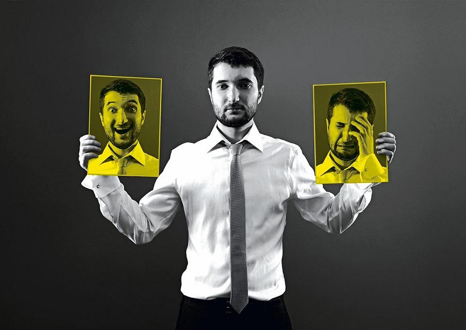 Nastroje, emocje w chorobie afektywno-dwubiegunowej mogą się zmienić w jednej chwili