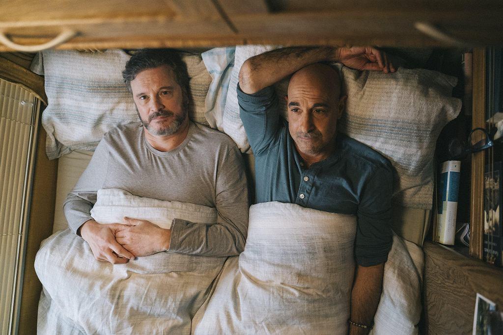 Colin Firth i Stanley Tucci w filmie 'Supernova'