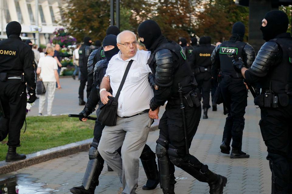 Protesty w Mińsku, 10 sierpnia 2020 r.