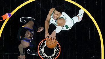 Bucks odrabiają straty w finale NBA! Świetny mecz Antetokounmpo