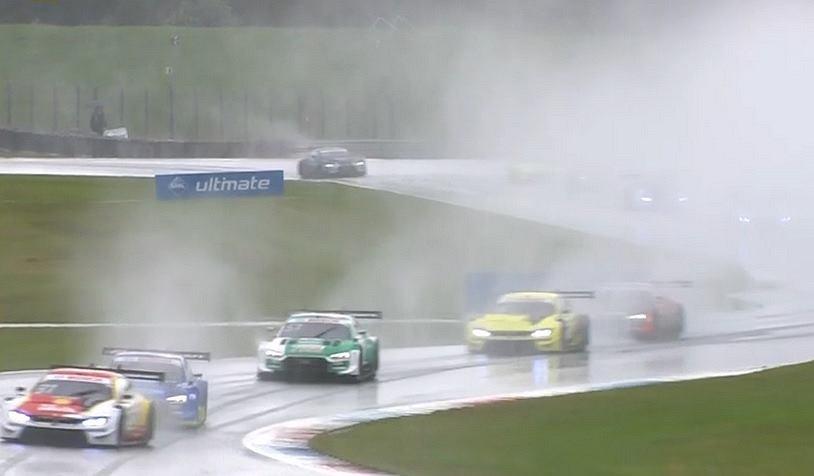 Robert Kubica, niedzielny wyścig DTM na torze w Assen