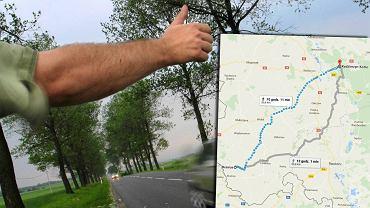 Droga z Kędzierzyna-Koźla do Branic