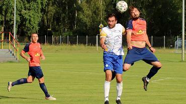 Środa, 14 lipca 2021 r. Piłkarski mecz towarzyski w Różankach pod Gorzowem: Warta Gorzów - Kluczevia Stargard 2:1 (1:1)