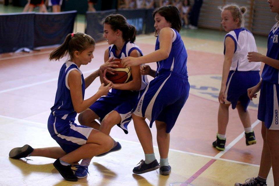 Pierwszy turniej Ebis Mini Basket Ligi