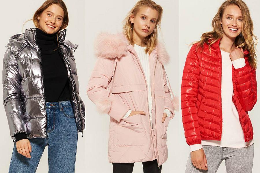 Zimowe kurtki House to ciepłe, pikowane modele