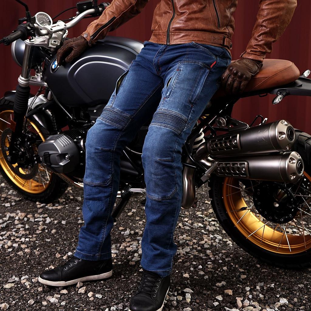 Spodnie motocyklowe 4SR Club Sport, motojeansy