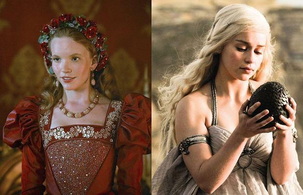 Tamzin Merchant i Emilia Clarke