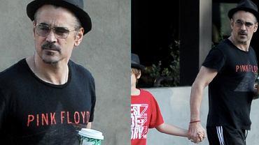 Colin Farrell na spacerze z Henrym