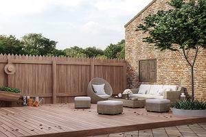 Zestawy mebli ogrodowych na balkon i taras