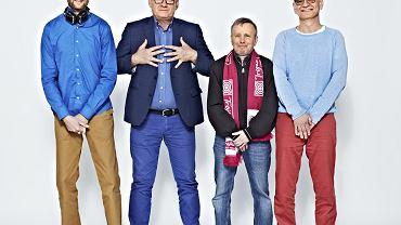Dziennikarze radiowej Trójki: Krystian Hanke, Michał Olszański, Piotr Baron, Dariusz Rosiak