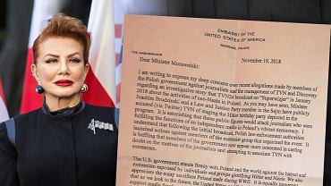 Pokazano list Mosbacher do Mateusza Morawieckiego